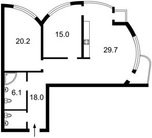 Квартира B-102859, Механизаторов, 2, Киев - Фото 4