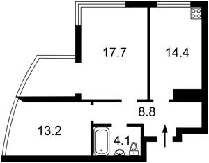 Квартира X-35612, Бажана Николая просп., 1а, Киев - Фото 4