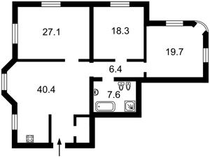Квартира K-32404, Лысенко, 2а, Киев - Фото 3
