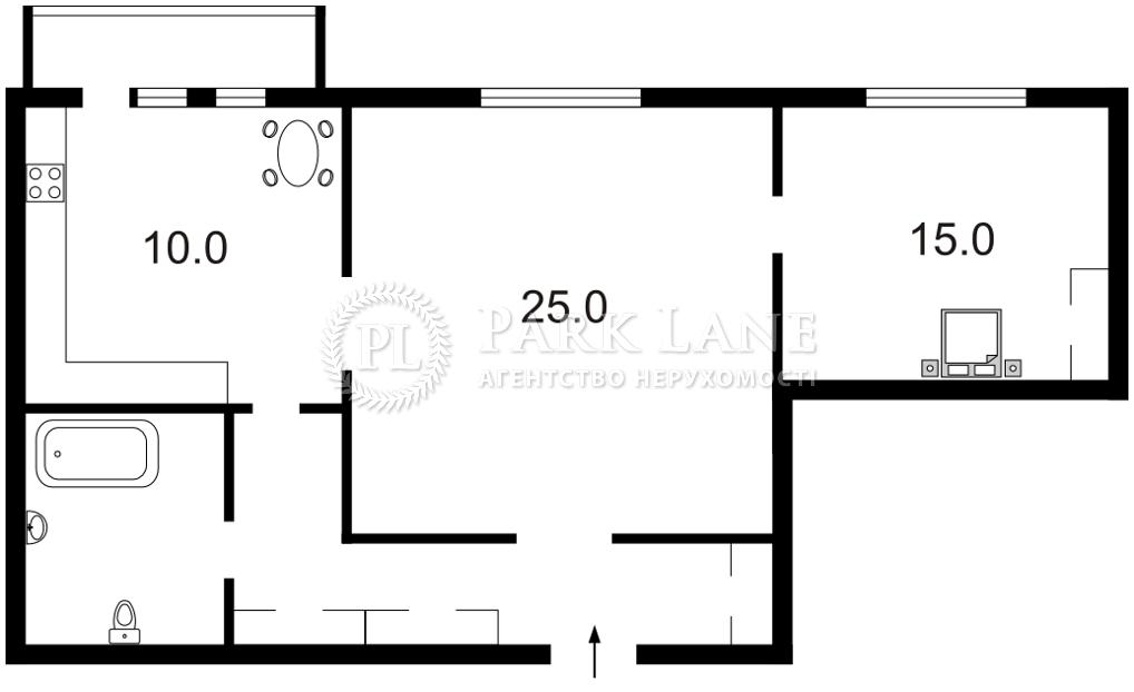 Квартира ул. Большая Житомирская, 29а, Киев, N-23161 - Фото 2