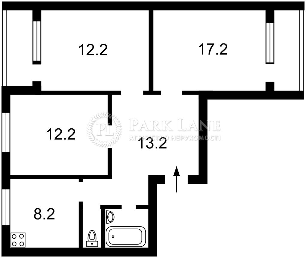 Квартира ул. Тростянецкая, 6б, Киев, K-32435 - Фото 2