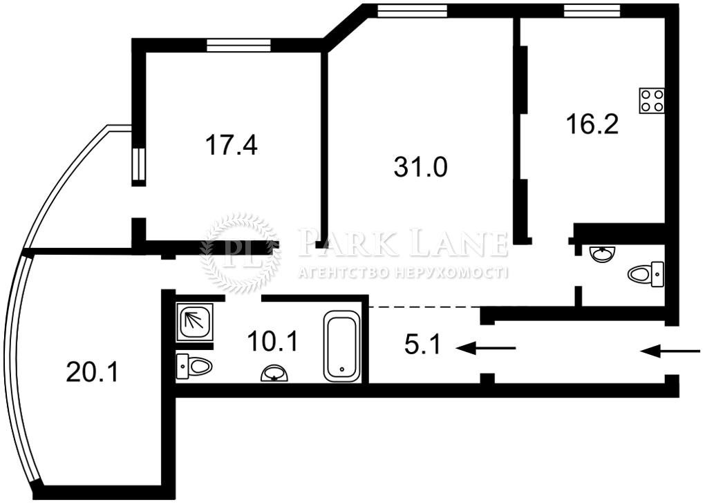 Квартира K-32413, Мишуги Александра, 12, Киев - Фото 6