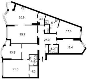 Квартира J-31407, Хмельницкого Богдана, 58а, Киев - Фото 3
