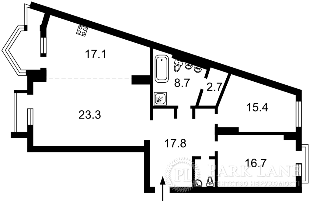 Квартира ул. Хмельницкого Богдана, 58а, Киев, R-39963 - Фото 2