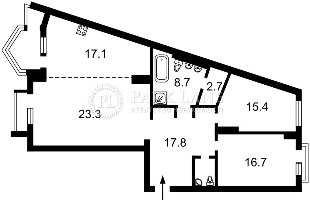 Квартира ул. Хмельницкого Богдана, 58а, Киев, R-39964 - Фото 2