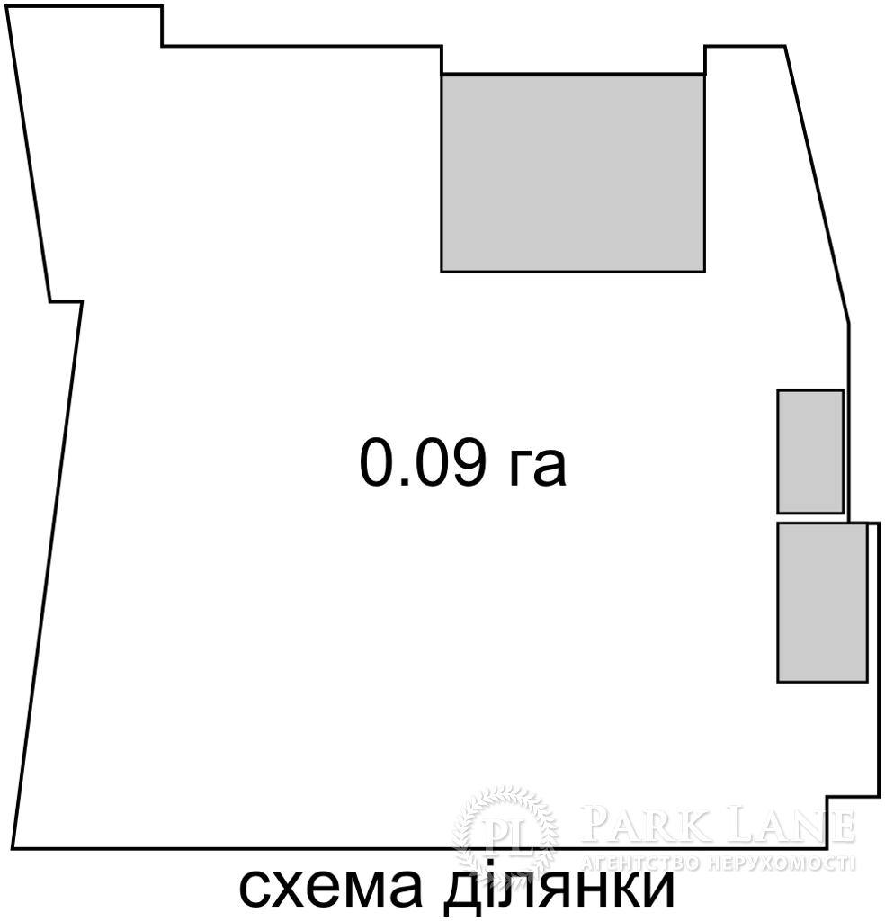 Земельный участок ул. Новополевая, Киев, K-32482 - Фото 2