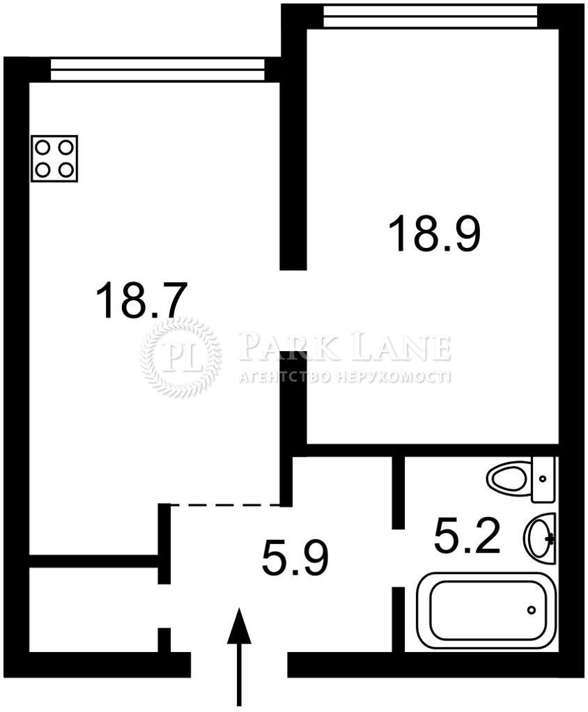 Квартира ул. Вильямса Академика, 19/14, Киев, B-102952 - Фото 2