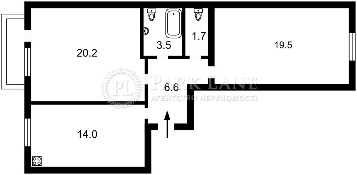 Квартира K-32534, Центральная, 33в, Буча (город) - Фото 3
