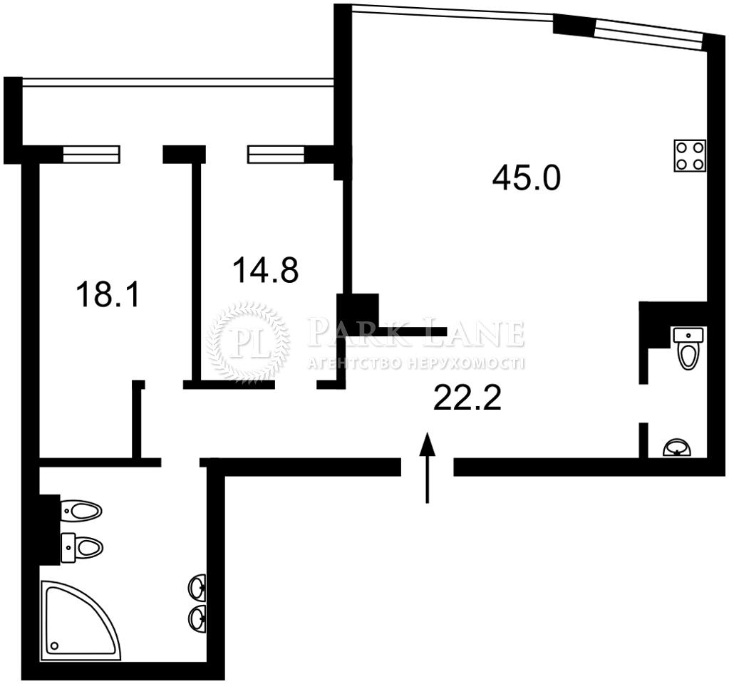 Квартира I-33375, Оболонская набережная, 1 корпус 1, Киев - Фото 4