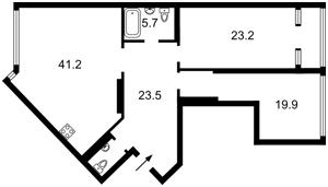 Квартира K-32401, Максимовича Михаила (Трутенко Онуфрия), 3г, Киев - Фото 6