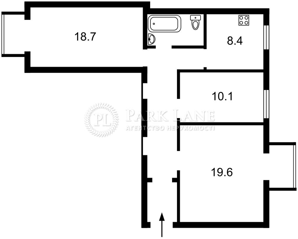 Квартира K-32663, Грушевского Михаила, 34/1, Киев - Фото 6