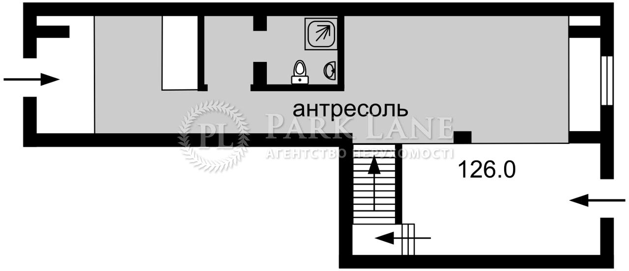 Нежилое помещение, ул. Бульварно-Кудрявская (Воровского) , Киев, I-33600 - Фото 2