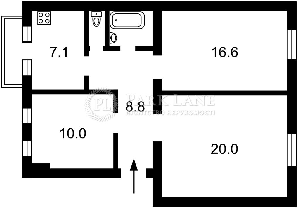 Квартира J-31610, Тютюнника Василия (Барбюса Анри), 5, Киев - Фото 3