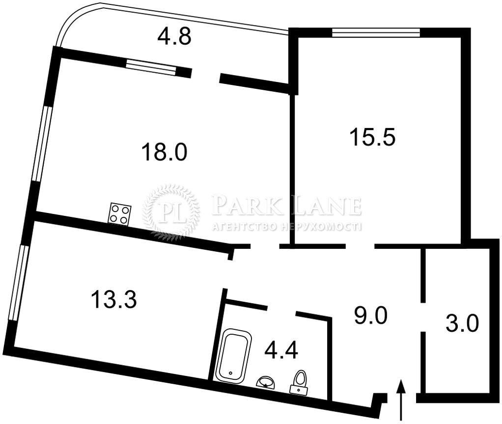 Квартира B-103056, Днепровская наб., 17в, Киев - Фото 3