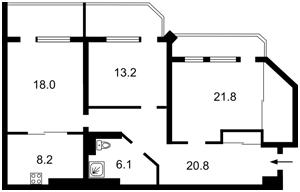 Квартира B-103089, Павловская, 18, Киев - Фото 4