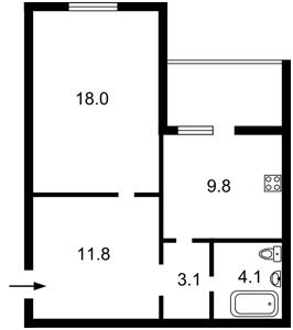 Квартира I-33618, Хвылевого Николая, 3, Киев - Фото 5
