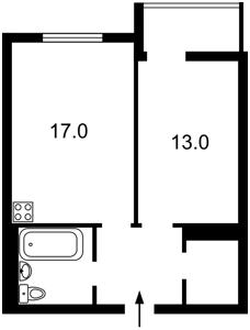 Квартира L-28768, Тютюнника Василия (Барбюса Анри), 53, Киев - Фото 6