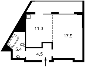 Квартира R-40569, Глушкова Академика просп., 9д, Киев - Фото 5