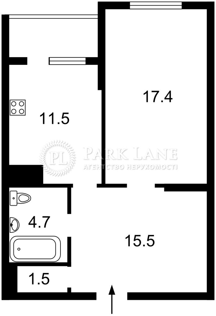 Квартира ул. Сикорского Игоря (Танковая), 1б, Киев, I-33615 - Фото 2