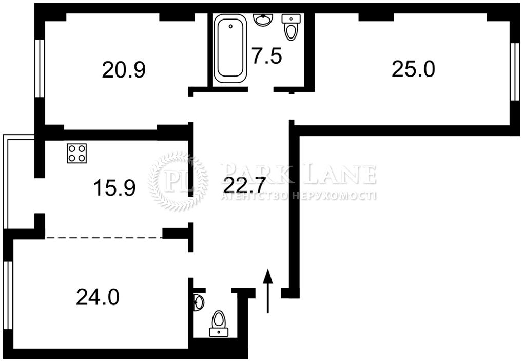 Квартира L-28813, Окипной Раиcы, 4а, Киев - Фото 4
