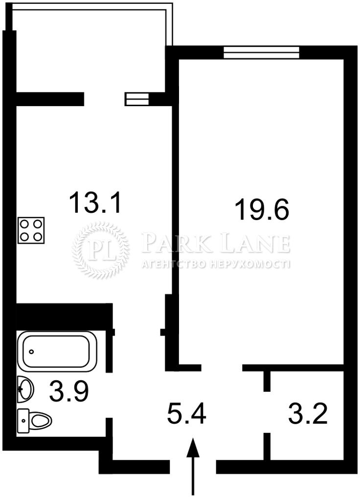 Квартира R-40153, Маланюка Евгения (Сагайдака Степана), 101 корпус 18-21, Киев - Фото 5