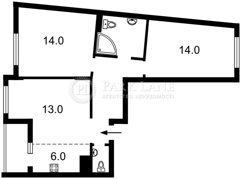 Квартира R-38231, Балтийский пер., 3, Киев - Фото 3