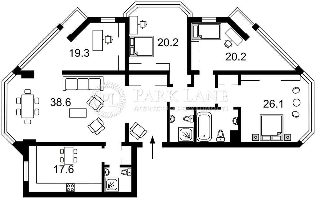 Квартира K-32682, Болсуновская (Струтинского Сергея), 2, Киев - Фото 6