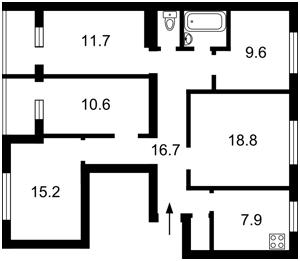 Нежилое помещение, Z-266167, Ивашкевича Ярослава, Киев - Фото 3