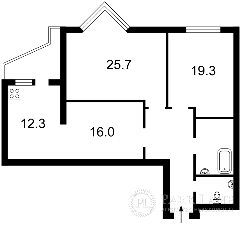 Квартира L-25473, Коновальца Евгения (Щорса), 32г, Киев - Фото 5
