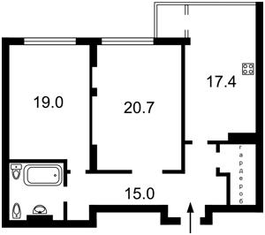Квартира J-26804, Драгомирова Михаила, 16, Киев - Фото 5