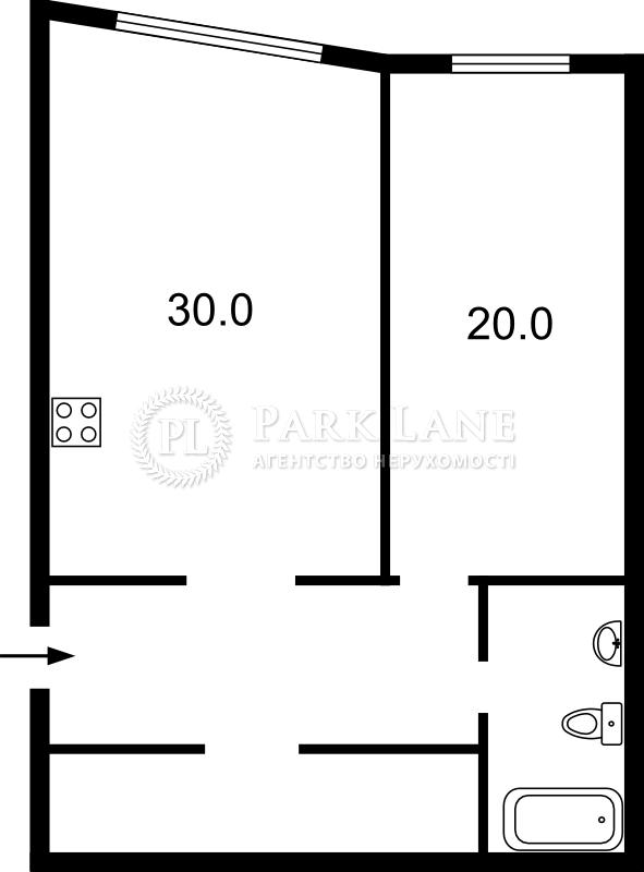Квартира ул. Олевская, 5, Киев, Z-515395 - Фото 2