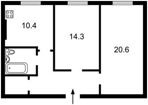 Квартира N-20786, Лебедева Академика, 1 корпус 1, Киев - Фото 2