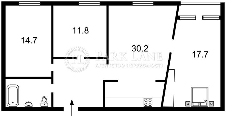 Квартира ул. Владимирская, 40/2, Киев, R-25898 - Фото 2