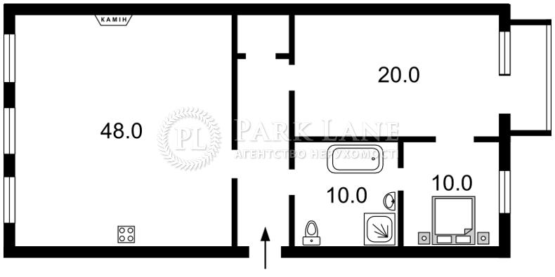 Квартира N-21351, Бассейная, 13, Киев - Фото 3