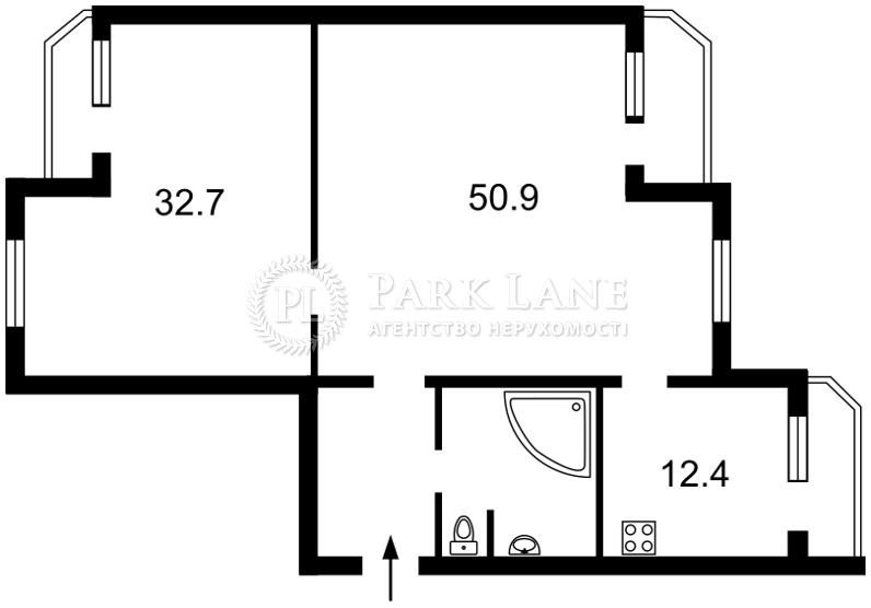 Квартира ул. Тростянецкая, 49, Киев, Z-584733 - Фото 2