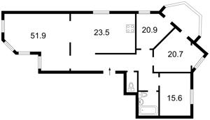 Квартира Z-659962, Героїв Сталінграду просп., 24а, Київ - Фото 4