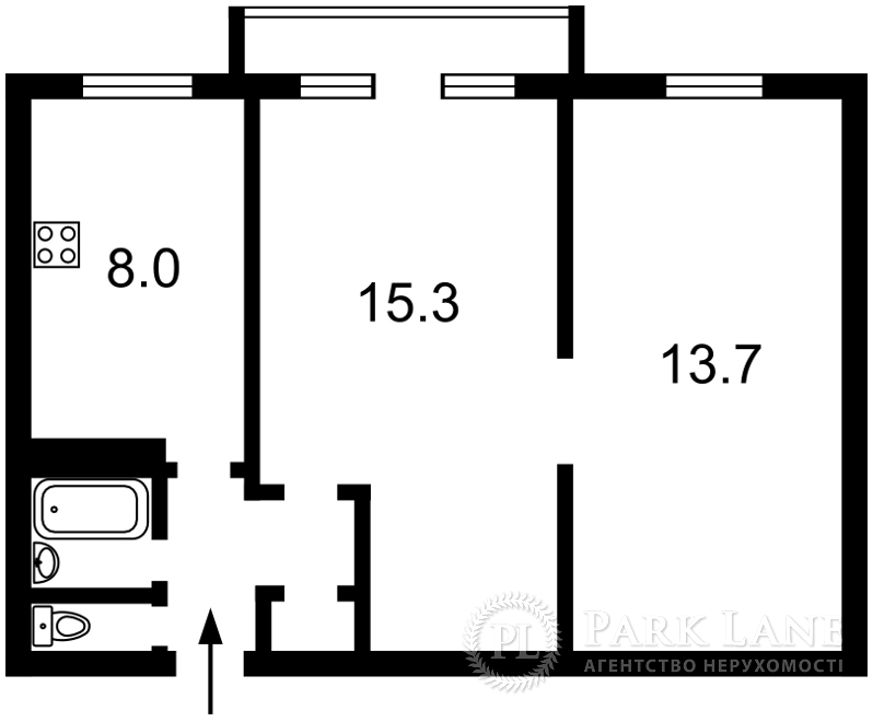 Квартира Леси Украинки бульв., 15а, Киев, B-83363 - Фото 2