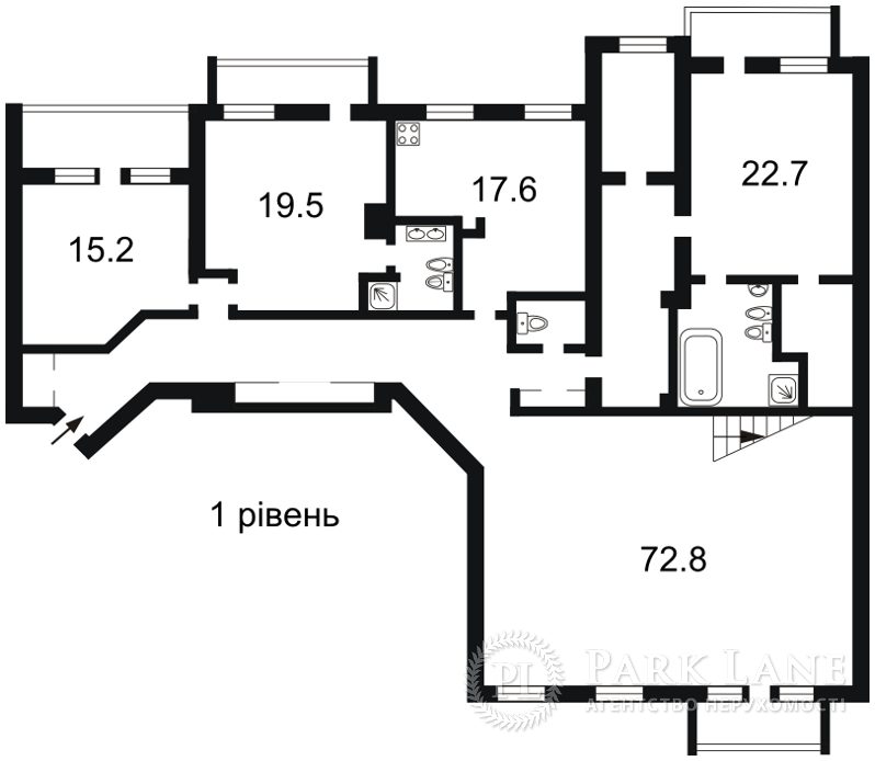 Квартира вул. Володимирська, 37, Київ, J-28458 - Фото 2