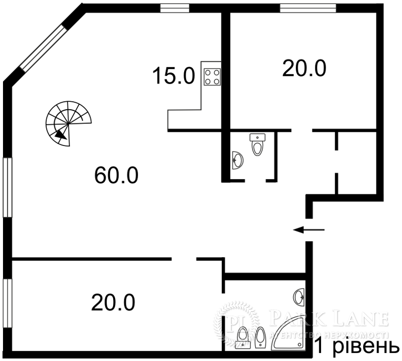 Квартира ул. Лабораторная, 8, Киев, J-28486 - Фото 2