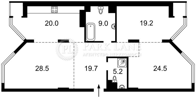 Квартира B-99925, Болсуновская (Струтинского Сергея), 2, Киев - Фото 9