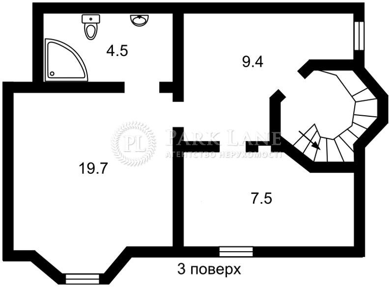 Будинок вул. Скіфська, Софіївська Борщагівка, R-18337 - Фото 4
