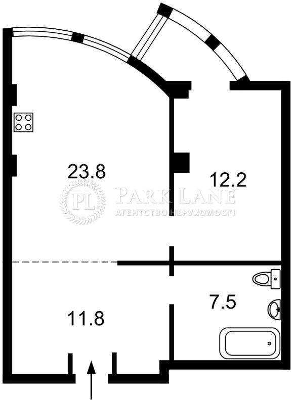 Квартира Дружбы Народов бульв., 14/16, Киев, Z-642180 - Фото 2