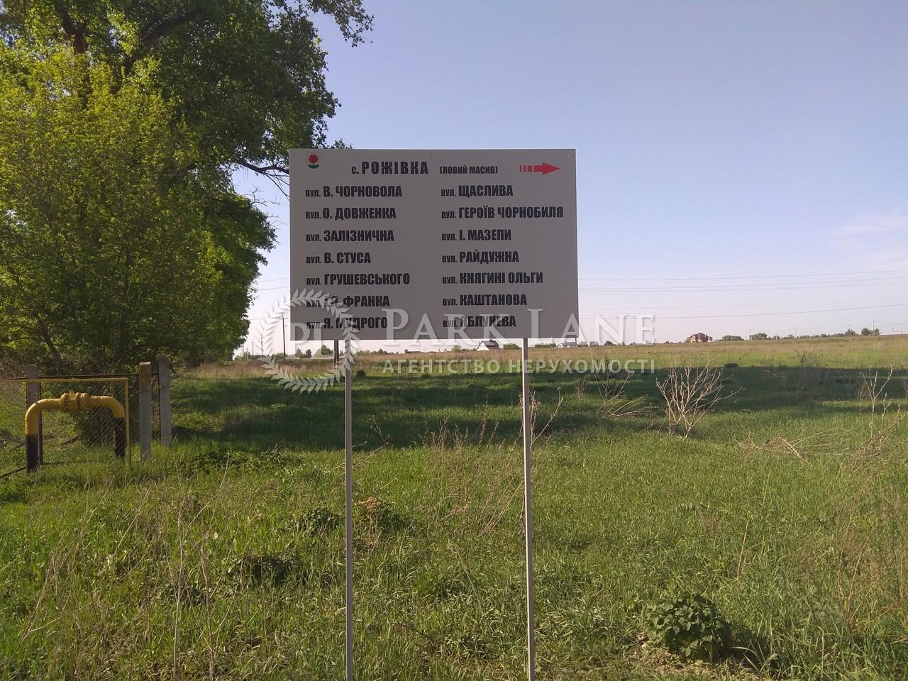 Земельна ділянка Рожівка, B-100351 - Фото 1