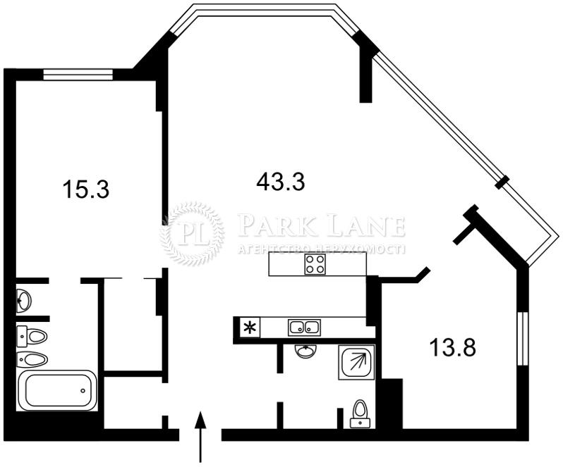 Квартира ул. Болсуновская (Струтинского Сергея), 2, Киев, J-29030 - Фото 2