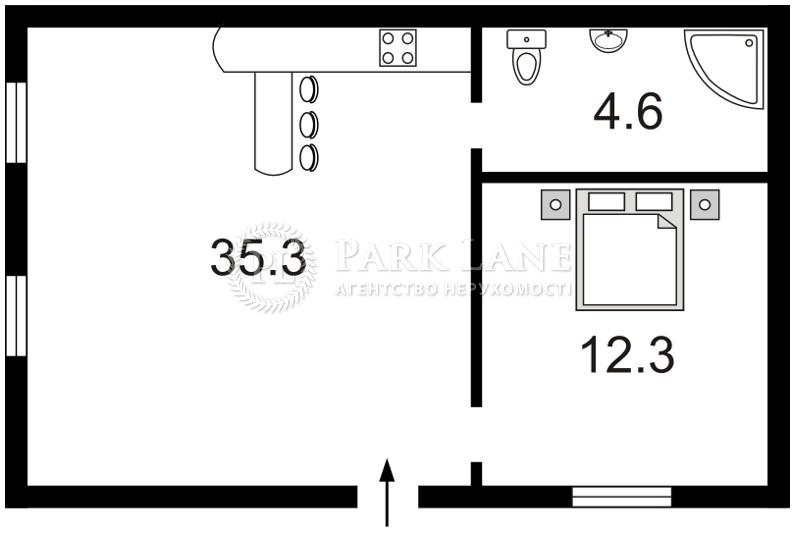 Квартира ул. Хмельницкого Богдана, 35/1, Киев, I-10626 - Фото 2