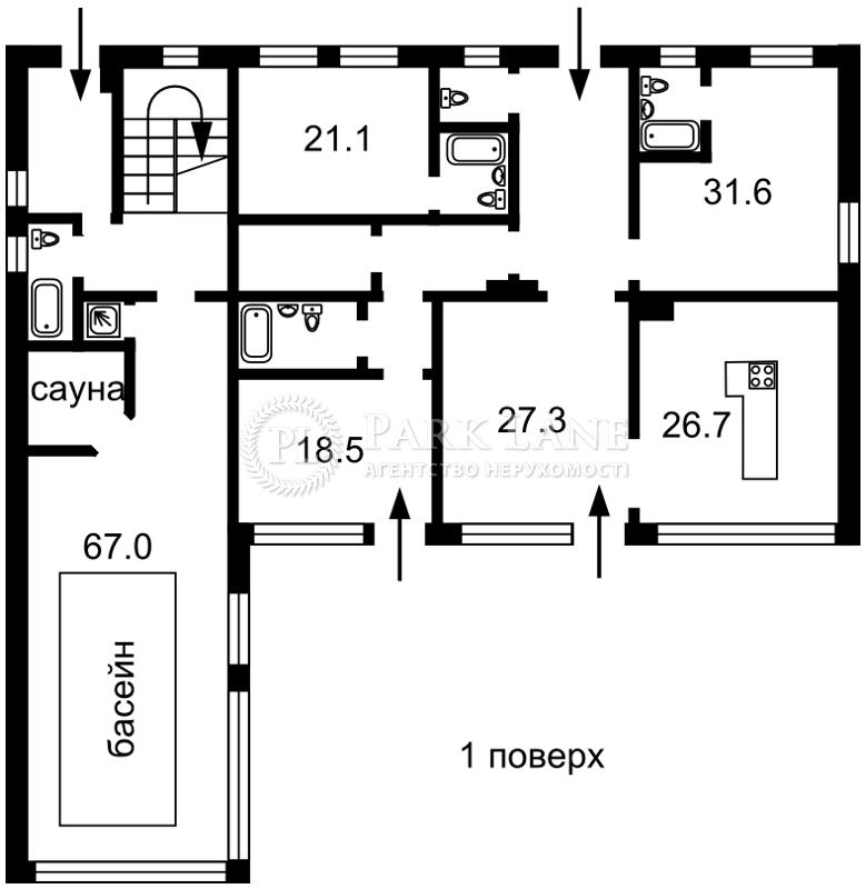 Дом ул. Старокиевская, Козин (Конча-Заспа), B-100569 - Фото 2