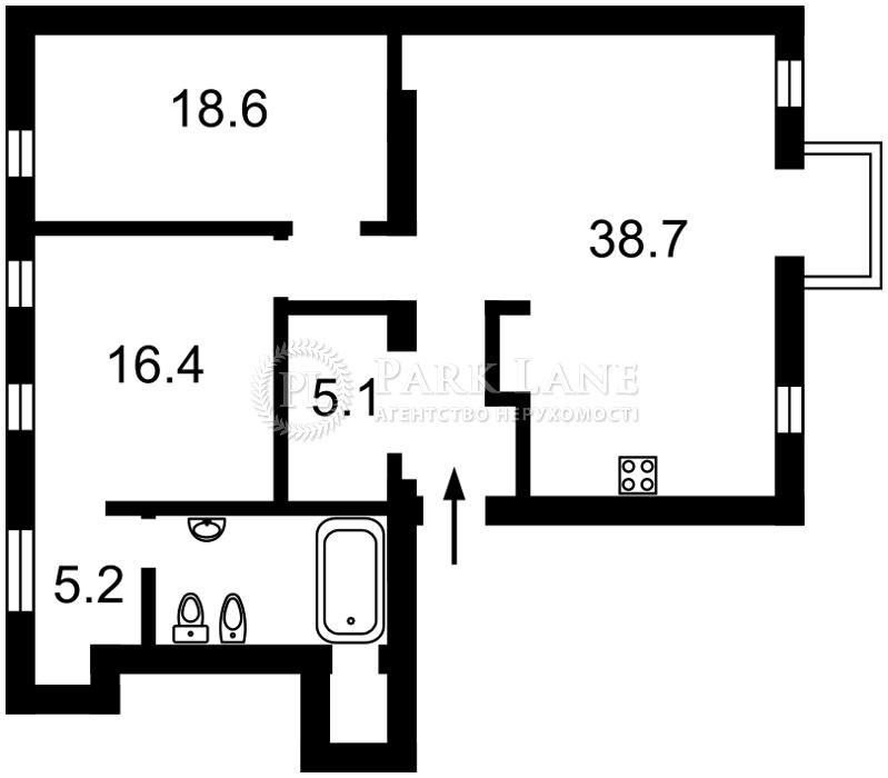 Квартира ул. Саксаганского, 5, Киев, Z-1493398 - Фото 2