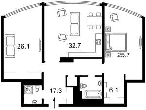 Квартира I-31436, Никольско-Слободская, 3а, Киев - Фото 5