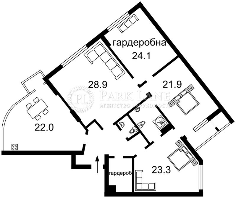 Квартира ул. Драгомирова Михаила, 16, Киев, J-29637 - Фото 2