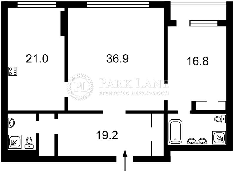 Квартира ул. Крещатик, 27б, Киев, K-30266 - Фото 2